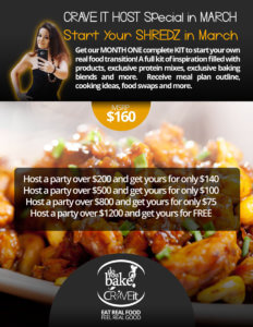 CRAVE IT HOST Special in MARCH