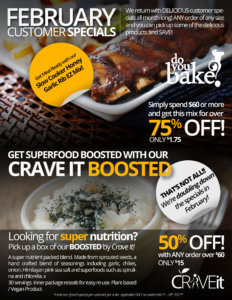 FEBRUARY CUSTOMER SPECIALS Flyer