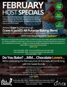 FEBRUARY Host SPECIALS Flyer