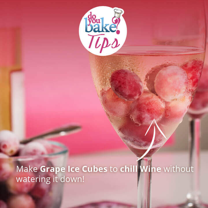 DYB Tips : Using Frozen Grapes