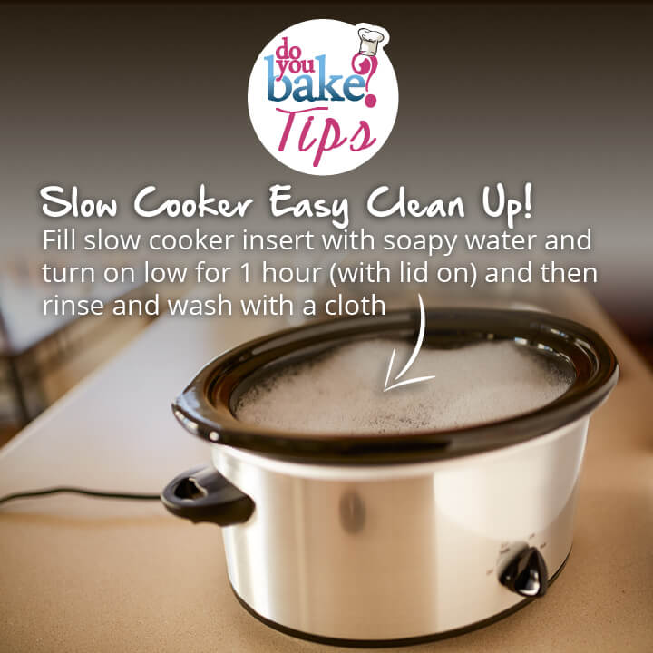 Quick Slow Cooker Clean Up Tip