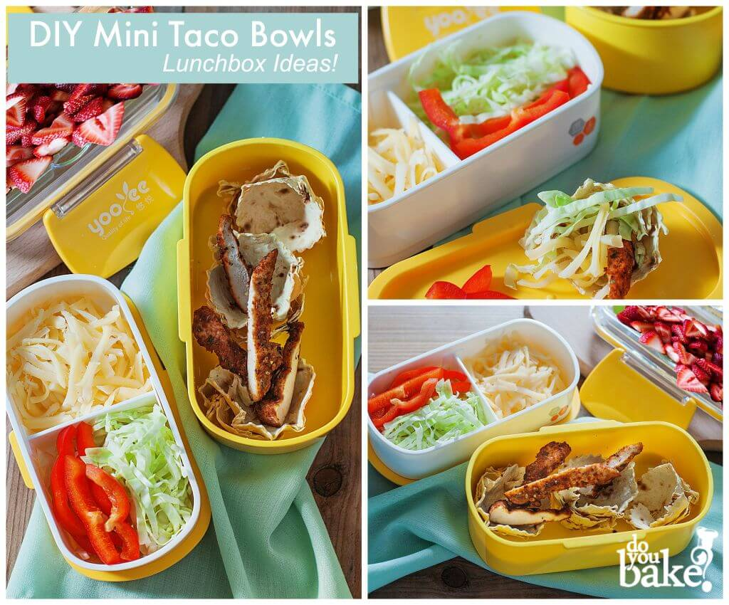 Lunchbox Fiesta Taco Bowls