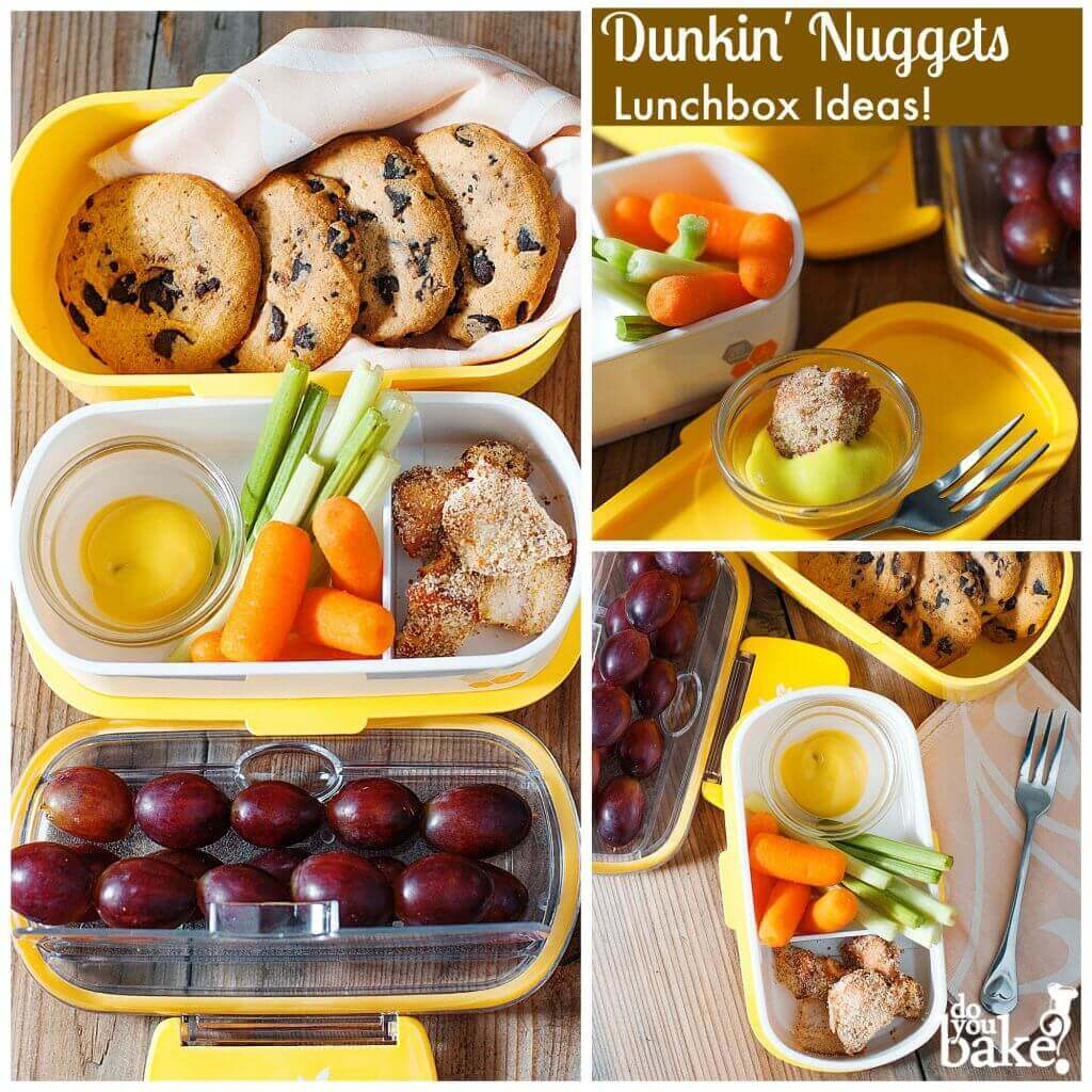 Fun Chicken Nuggets & Dunkin' Cookies Lunch Box