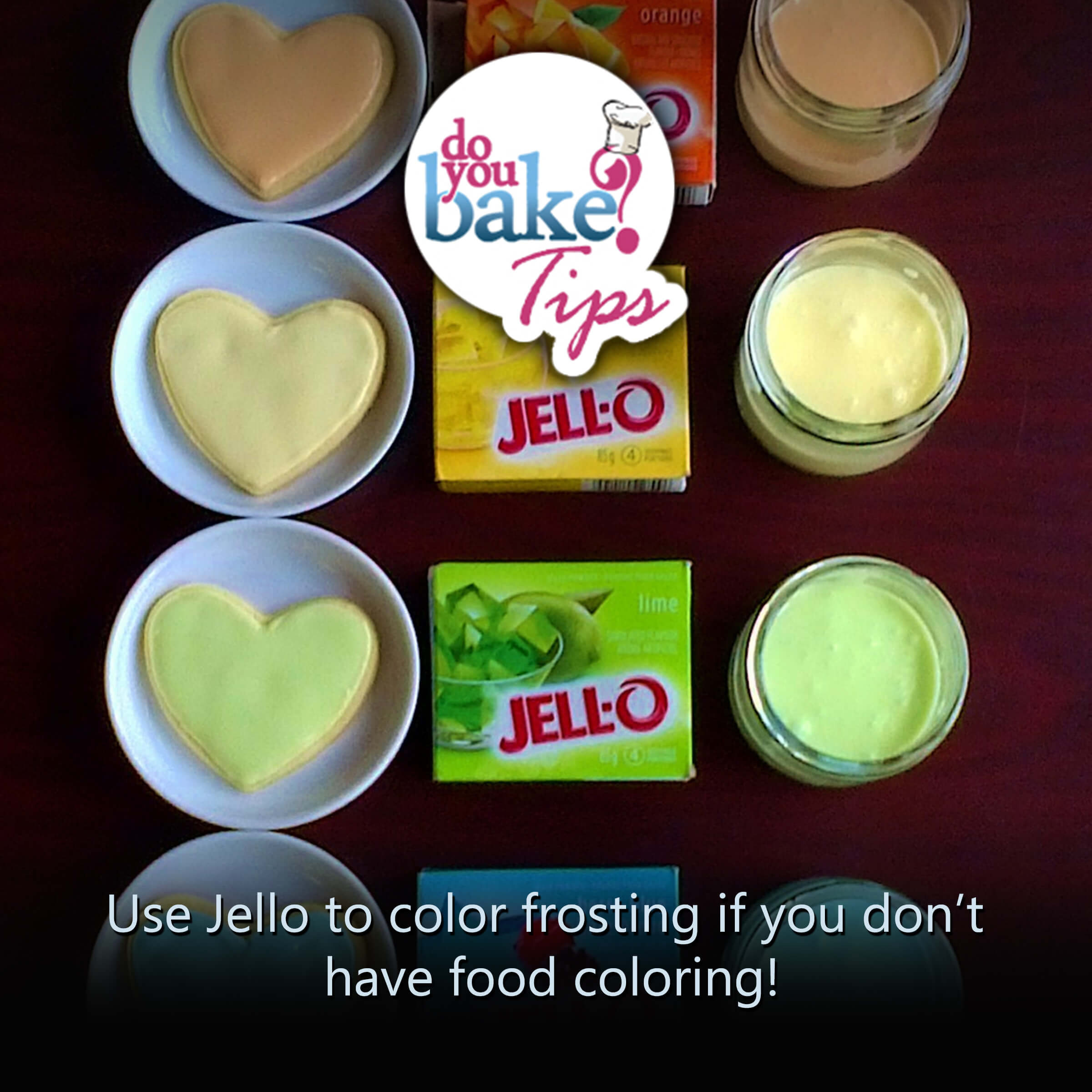 Jello to color frosting! – Do You Bake