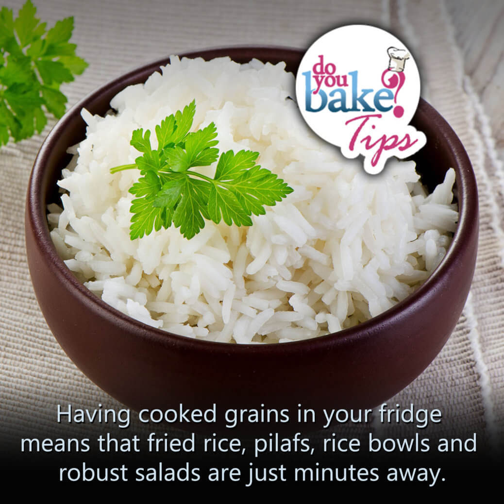 Double that batch of rice do you bake double that batch of rice or quinoa or bulgur or having cooked grains in your fridge means that fried rice pilafs rice bowls and robust salads are ccuart Choice Image
