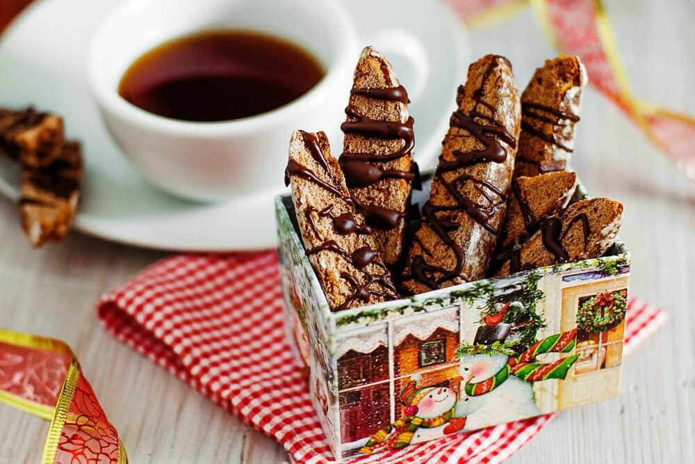 Chocolate Biscotti Recipe for the holidays
