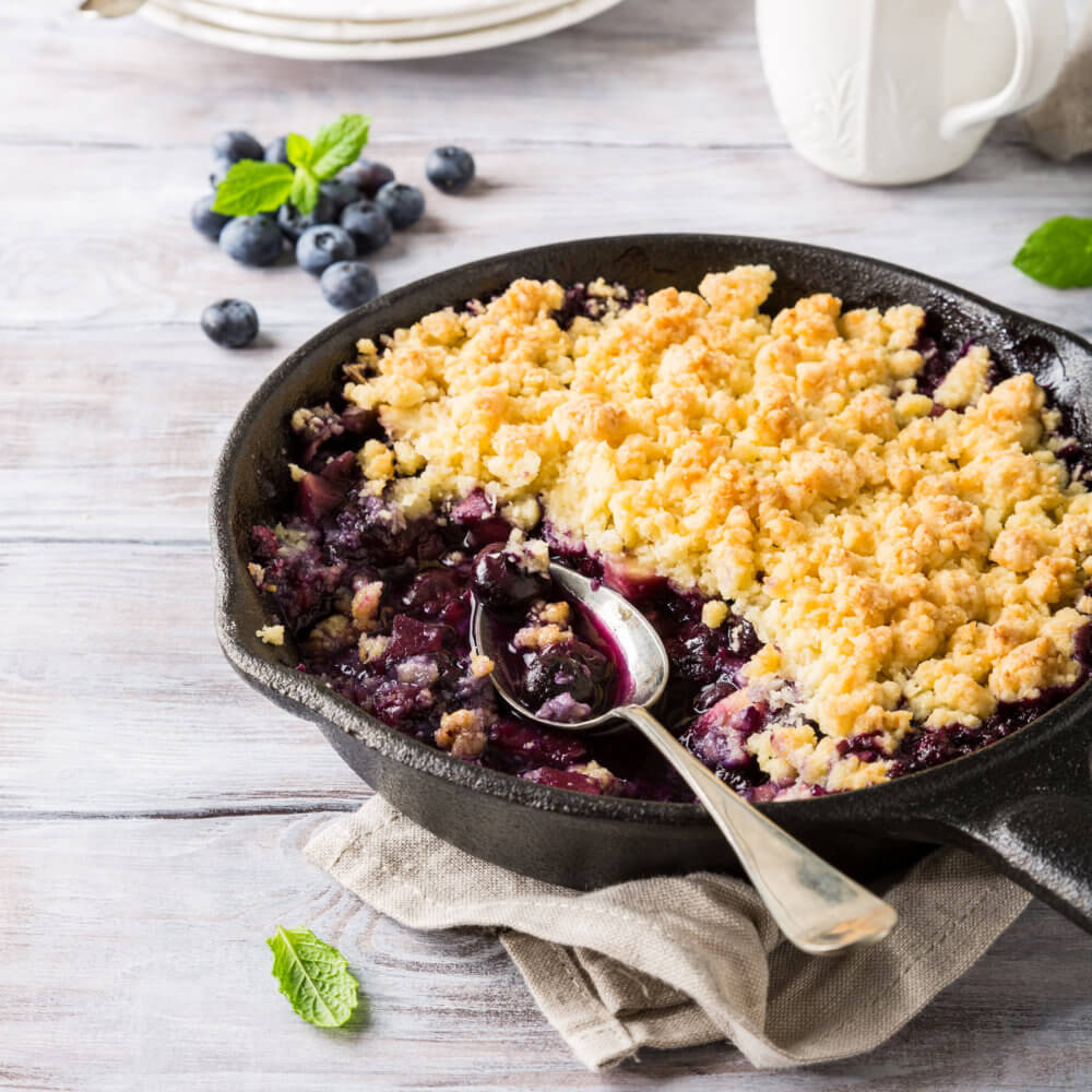 berry and apple cobbler recipe using Do You Bake? buttermilk flip flop flapjacks