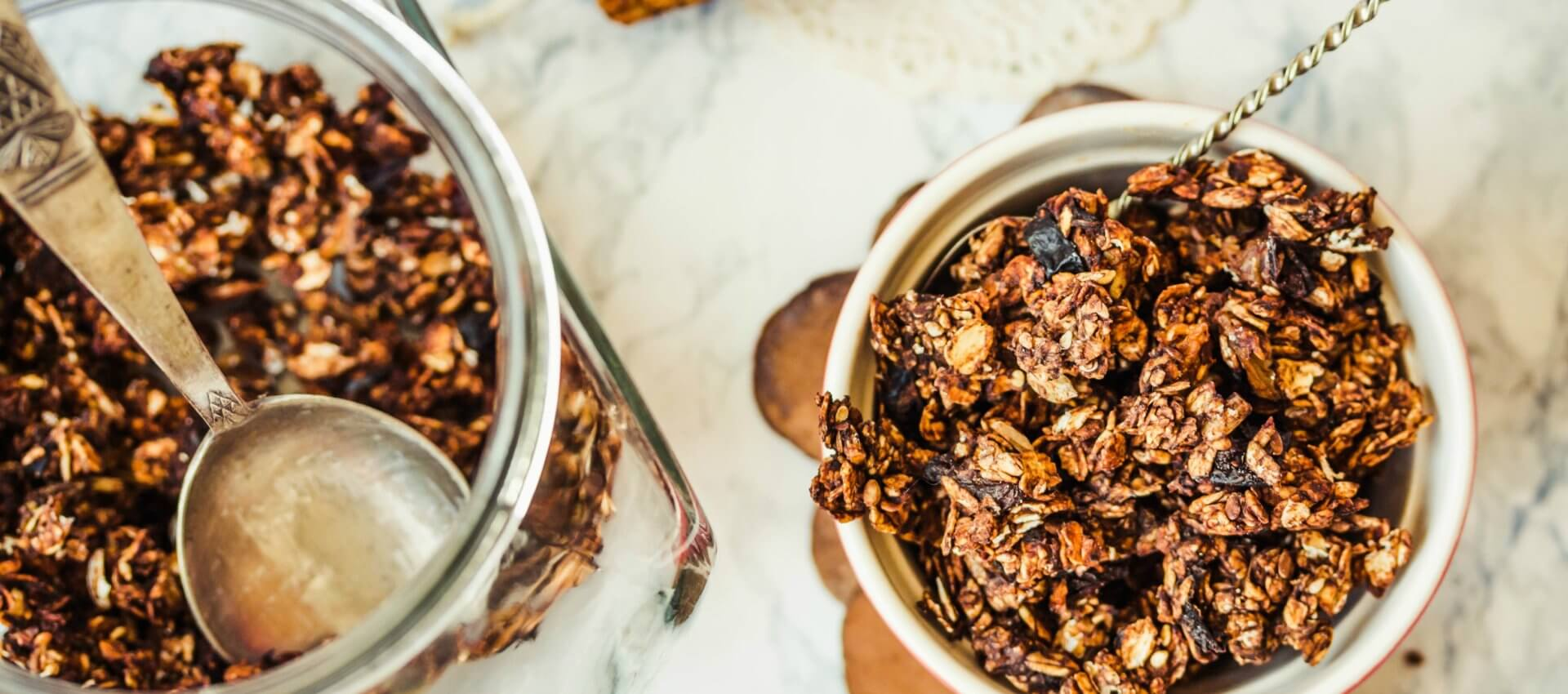 Chocolate brownie granola recipe using Do You Bake? Gourmet Brownie mix